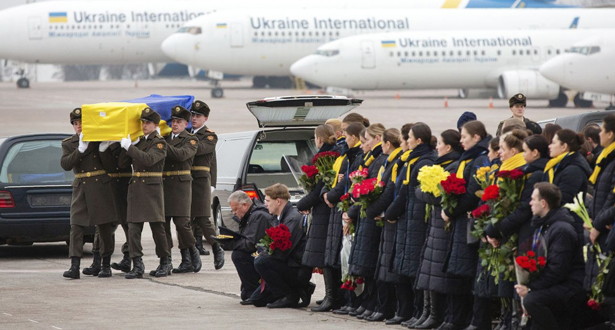 كييف.. وصول جثامين الأوكرانيين ضحايا الطائرة المنكوبة بإيران