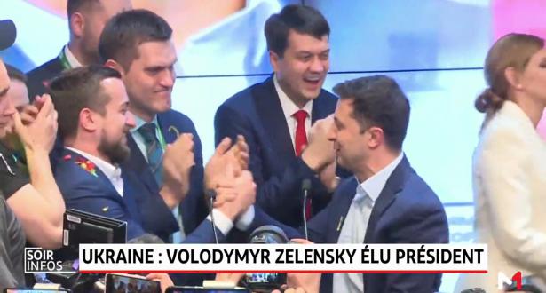 Ukraine: Large victoire de Volodymyr Zelensky à la présidentielle
