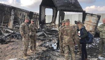 إصابة 11 جنديا أمريكيا في الهجوم الايراني على قاعدة عين الأسد العراقية