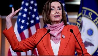 نانسي بيلوسي تعلن تأييدها المرشح الديموقراطي للرئاسة الأمريكية جو بايدن