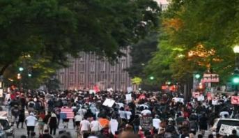 أعمال العنف مستمرة في الولايات المتحدة بعد أسبوع على وفاة جورج فلويد
