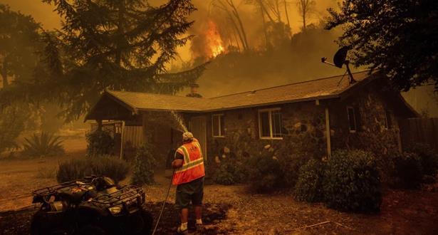 دخان الحرائق الأمريكية يصل إلى أوروبا