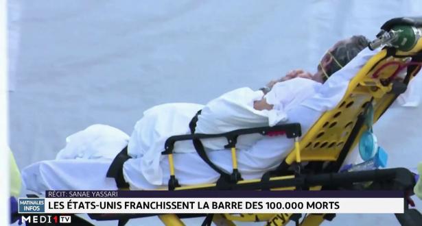 Covid-19: les Etats-Unis franchissent la barre des 100.000 morts
