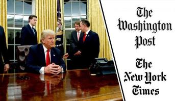 """الإدارة الأمريكية تلغي الاشتراك في صحيفتي """"نيويورك تايمز"""" و""""واشنطن بوست"""""""