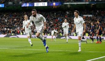 ريال مدريد يحقق فوزا ثمينا أمام فالنسيا