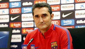 """Espagne: """"J'aimerais que tous les Barça-Real soient décaféinés"""", dit Valverde"""