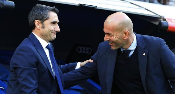 Espagne: Zidane prend la défense de Valverde