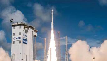 """إرجاء إطلاق صاروخ """"فيغا"""" الأوروبي  بسبب الرياح المتواصلة"""