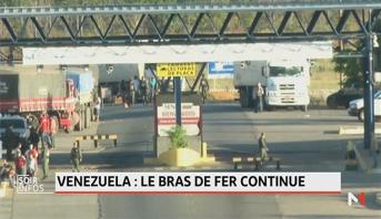 Venezuela: le bras de fer continue