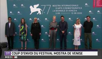 Italie: coup d'envoi du festival Mostra de Venise