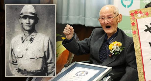 ياباني يبلغ 112 عاما عميد سن البشرية بين الذكور