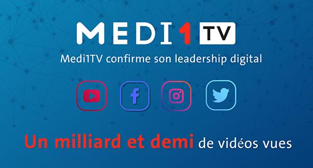 Medi1TV confirme son leadership digital: une audience en forte progression et un milliard et demi de vidéos vues