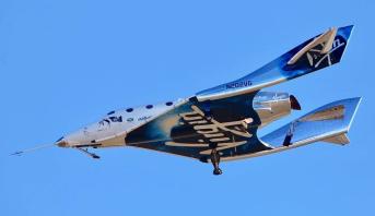 Le vaisseau spatial de Virgin Galactic aura des caméras pour selfie avec la Terre