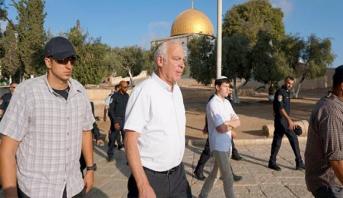 وزير إسرائيلي يقود اقتحامات مستوطنين للمسجد الأقصى