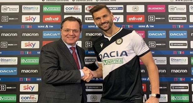 Football: l'attaquant de Naples Fernando Llorente rejoint l'Udinese