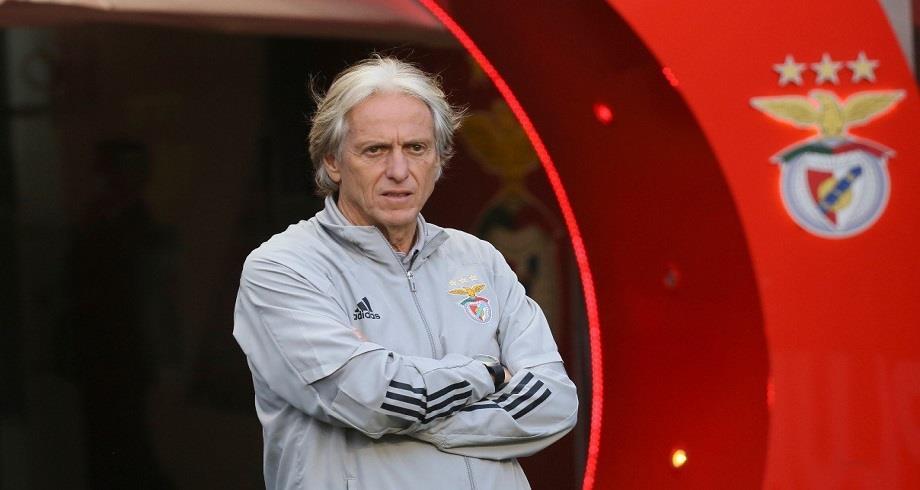 Football: l'entraîneur du Benfica Jorge Jesus positif au Covid-19