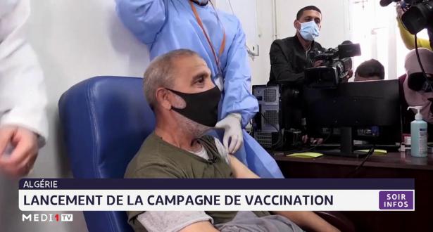 Coronavirus: Lancement de la campagne de vaccination en Algérie