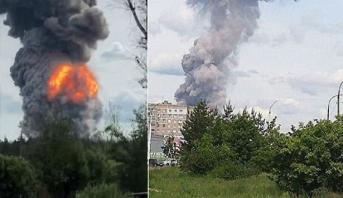 Russie: 42 blessés lors d'une déflagration dans une usine d'explosifs