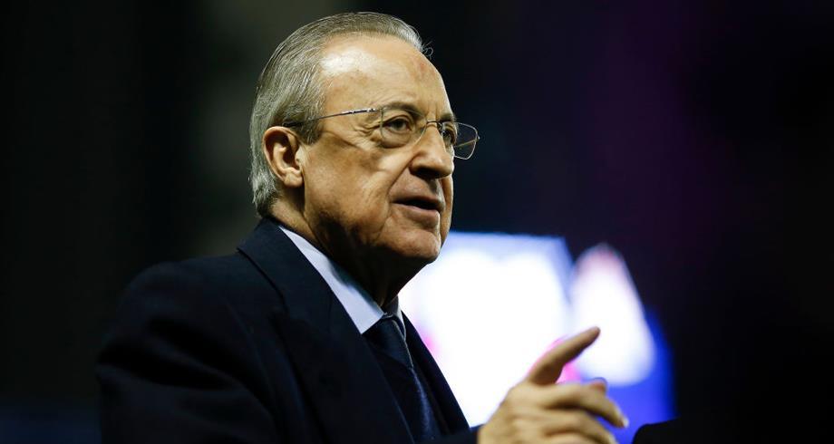 إصابة رئيس ريال مدريد بفيروس كورونا