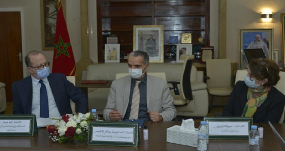 La Fondation Mohammed VI pour la Réinsertion des Détenus reçoit le directeur de l'UNICEF pour la région MENA