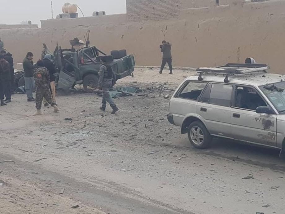 Afghanistan: 4 morts et 3 blessés dans un attentat à la voiture piégée