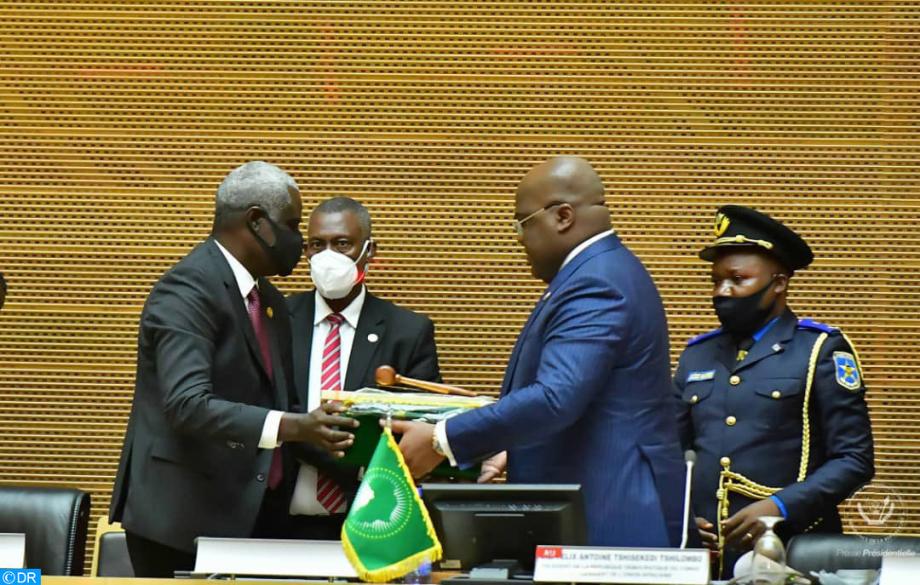 Sommet de l'UA: la République démocratique du Congo assure la présidence tournante de l'Union africaine