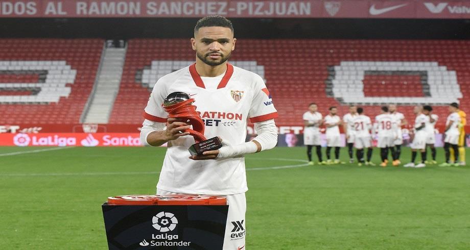 Championnat d'Espagne: le Marocain En-Nesyri, meilleur joueur du mois de janvier