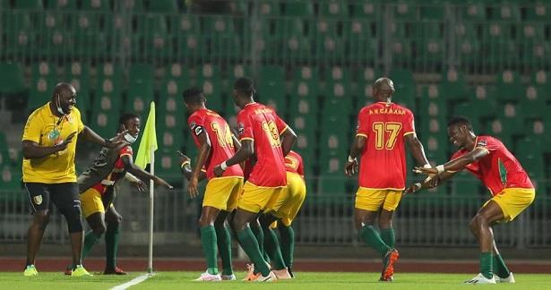 """منتخب غينيا يحرز المركزالثالث في بطولة """"الشان"""""""