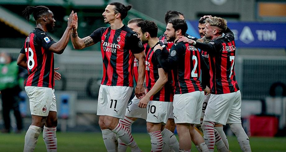 Italie: l'AC Milan reprend la tête de la Serie A