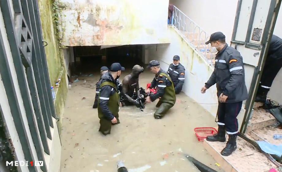 ارتفاع حصيلة ضحايا حادث تسرب مياه الأمطار بوحدة صناعية سرية بطنجة