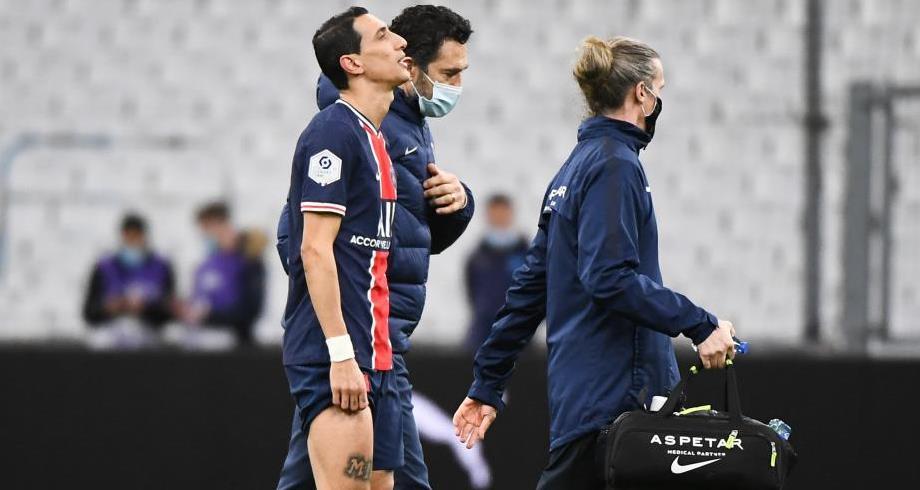 الإصابة تمنع دي ماريا من مواجهة برشلونة