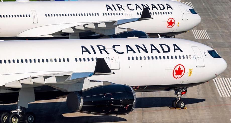 شركة الطيران الكندية تعلن عن تسريح 1500 عامل