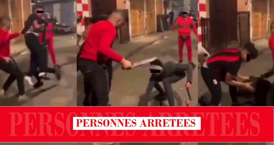 توقيف أشخاص ظهروا في شريط فيديو يتضمن محتوى عنيفا زائفا بالدار البيضاء