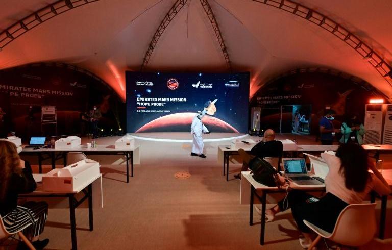Hope: les Emirats arabes unis, premier pays arabe à tutoyer Mars
