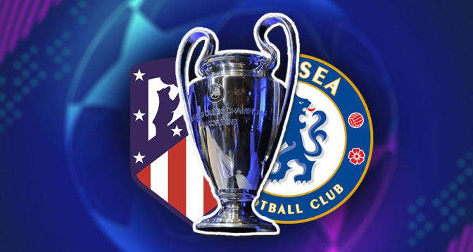 رسميا .. نقل مكان مباراة أتلتيكو مدريد وتشلسي ضمن ثمن نهائي دوري الأبطال