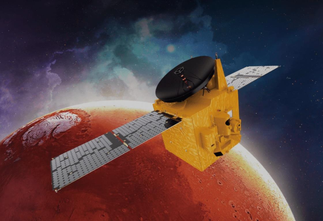 """مدير المرصد الفلكي """"أوكايمدن"""" يقدم لميدي1 تفاصيل رحلة مسبار ″الأمل″ الإماراتي نحو مدار المريخ"""