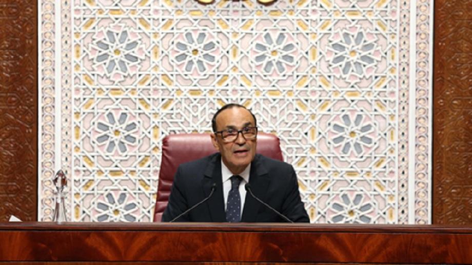 Message de fidélité et de loyalisme au Roi Mohammed VI du Président de la Chambre des Représentants