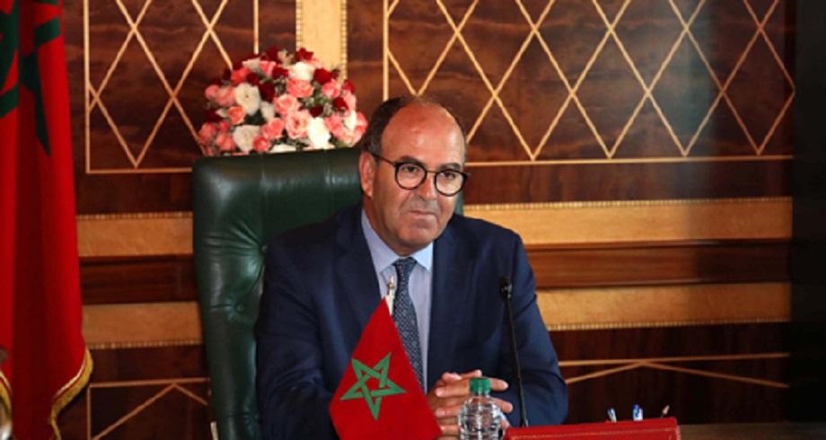 Message de fidélité et de loyalisme au Roi Mohammed VI du Président de la Chambre des conseillers