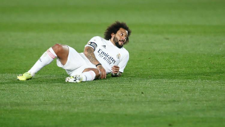إصابة مارسيلو تعمق معاناة ريال مدريد مع الغائبين
