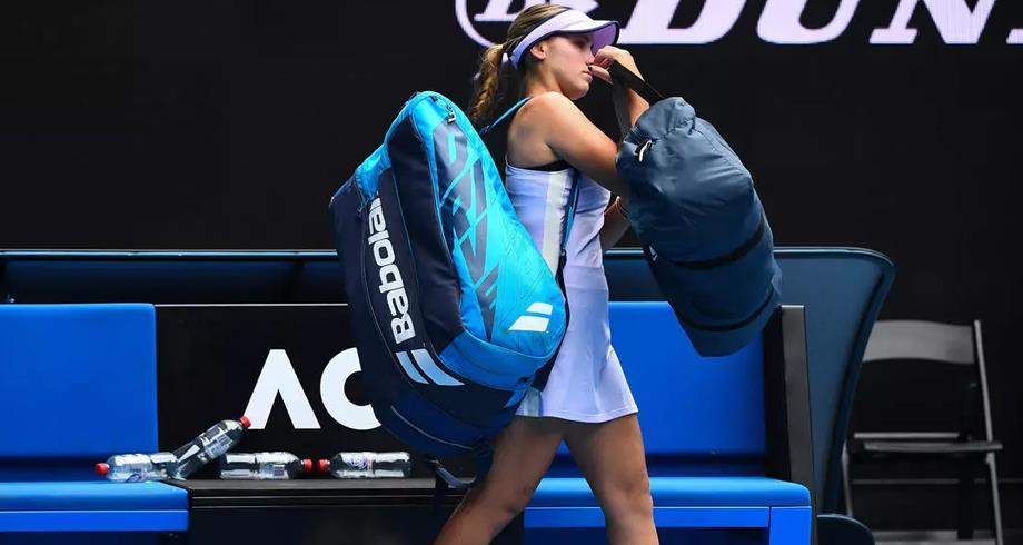 بطولة أستراليا المفتوحة: خروج حاملة اللقب
