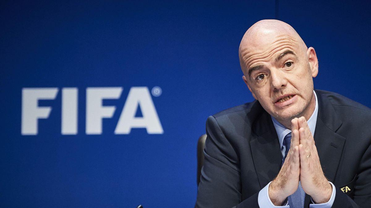 Football: Infantino appelle à une Coupe du monde des clubs élargie