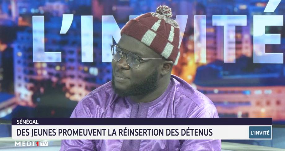 Invité Medi1tv Afrique: des jeunes au Sénégal promeuvent la réinsertion des détenus