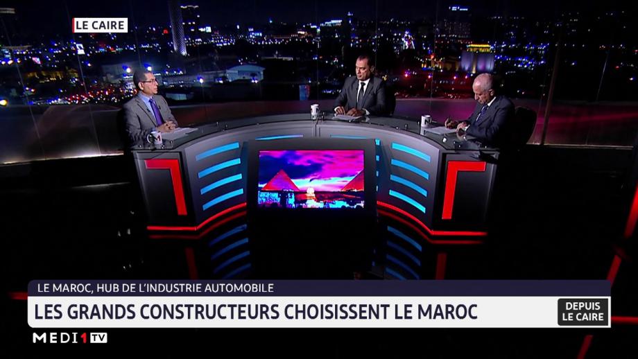 Le Maroc, un hub de l'industrie automobile