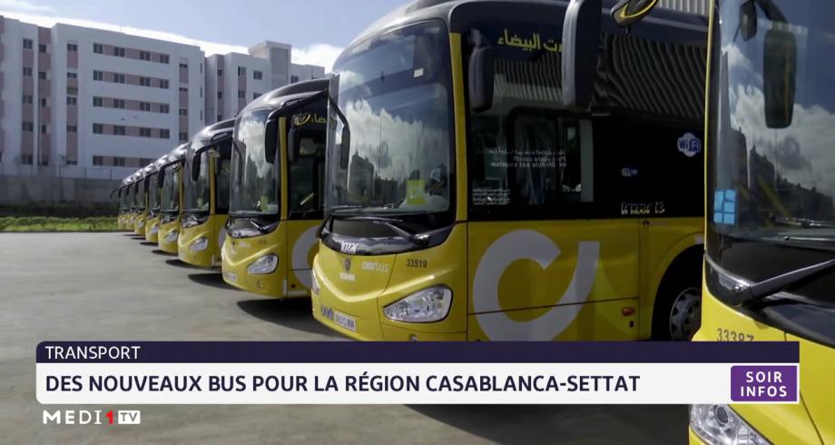 Des nouveaux bus pour la région Casablanca-Settat