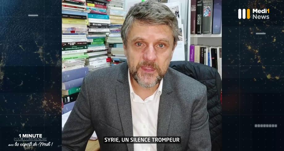 """""""Syrie : un silence trompeur"""" : 1 minute pour comprendre avec Pierre Boussel"""