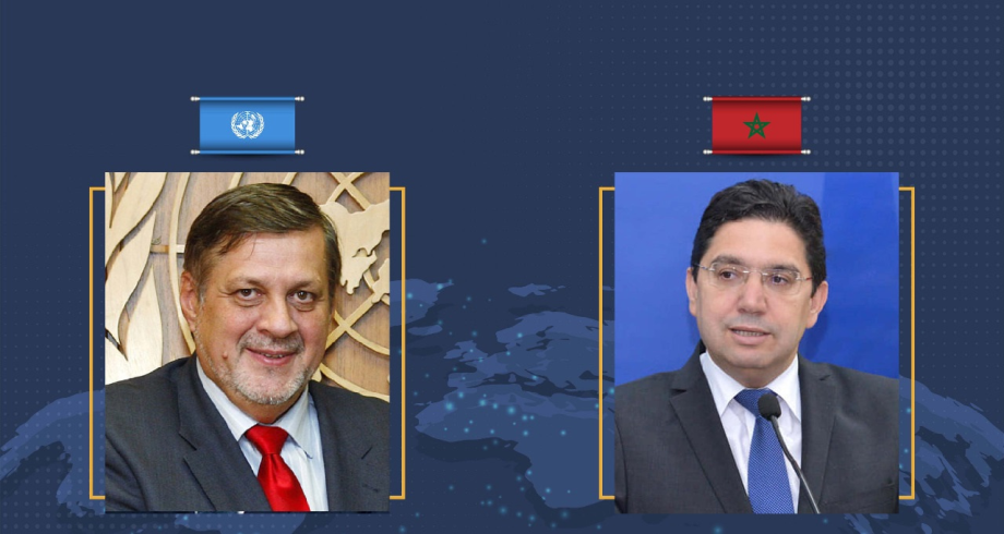 بوريطة يتباحث مع رئيس البعثة الأممية للدعم في ليبيا