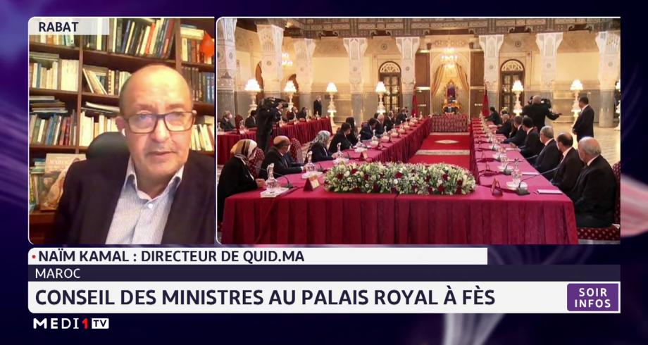 Conseil des ministres: les points essentiels à retenir, avec Naïm Kamal
