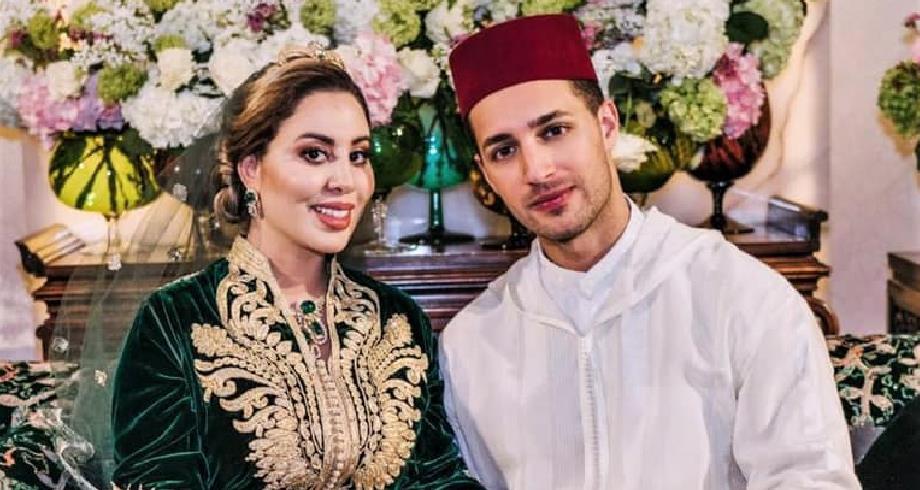 Conclusion de l'acte de mariage de Lalla Nouhaila Bouchentouf, fille de la princesse Lalla Asmaa, avec Ali El Hajji