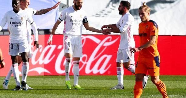 Espagne: le Real Madrid domine Valence 2-0