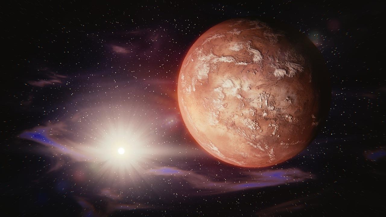 """القصة: """"الأمل"""" حول المريخ"""